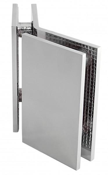 Winkelverbinder Glas-Glas 135°