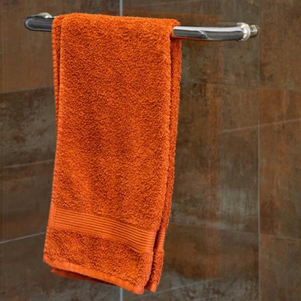 Stoßgriff mit Gegenknopf als Handtuchhalter