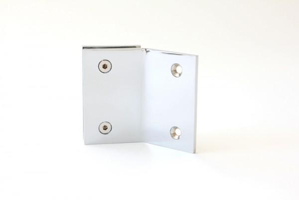 Winkelverbinder Glas-Wand 135°