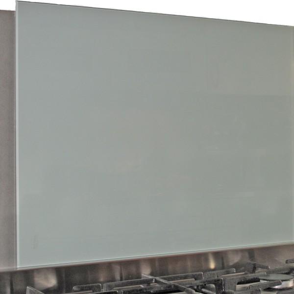 Küchenrückwand 6mm Glas mintgrün-weiß