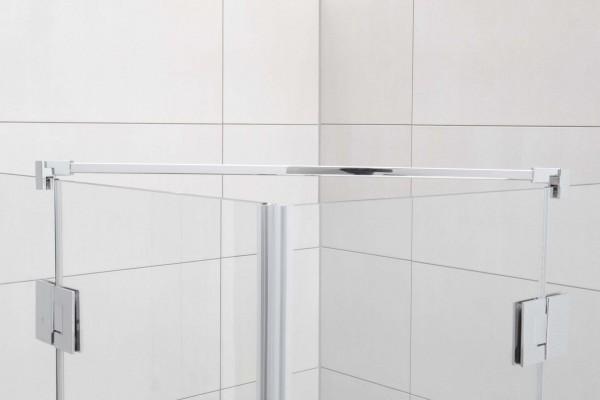 Fixum Stabilisationsstange Eckig, Glas-Glas