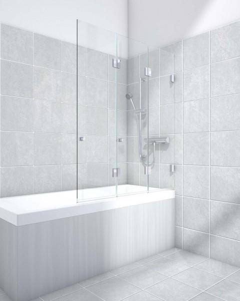 Badewannenaufsatz 3-Teilig