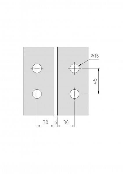 Glas-Glas 180° Slim Line