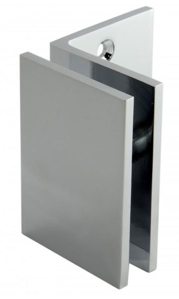 Winkelverbinder Glas-Wand 90°