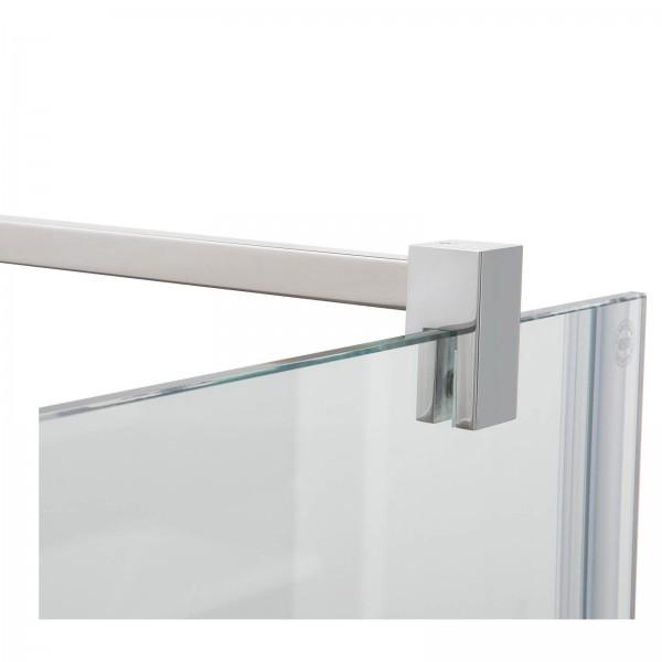 Fixum Stabilisationsstange ECKIG, Glas-Wand